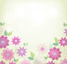 时尚花纹背景图片