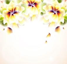 时尚鲜花背景图片