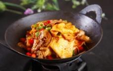干锅千叶豆腐图片
