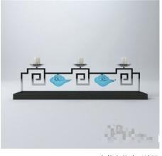 古典装饰3D模型素材