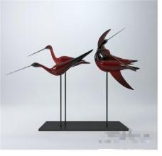 新中式陈设品3D模型素材