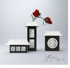 古典装饰设计3D模型素材