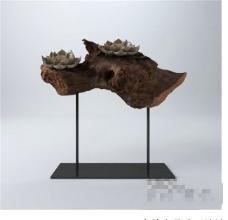 中式装饰3D模型素材