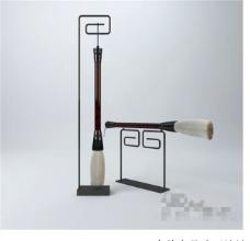 笔杆3D模型素材
