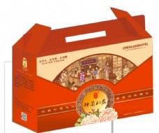 礼盒平面图图片