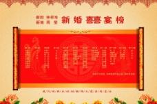 中式喜榜图片