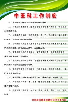 中医科工作制度图片