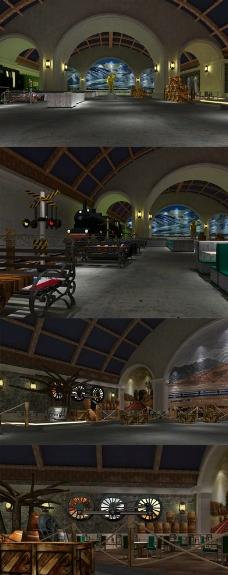 火车主题餐厅酒吧图片