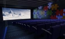 电影放影厅