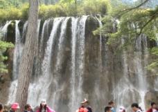 珍珠滩瀑布图片