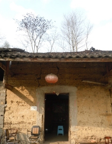 老房子门口图片