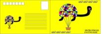乌龟明信片图片