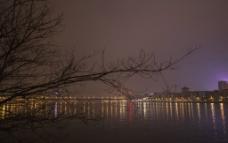 城市江景图片