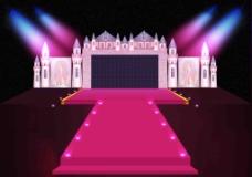 婚礼城堡舞台