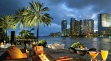 迈阿密 美丽 夜景图片