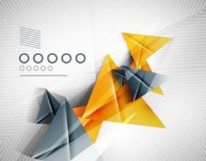 三角形抽象背景