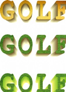 golf英文
