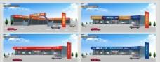 二手车4S店铺形象设计图片