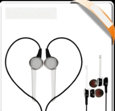 入耳式耳机图片