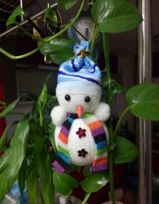 圣诞小雪人图片