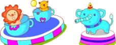 转动动物玩具图片