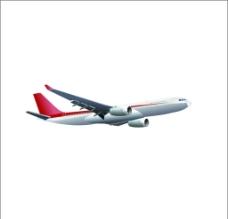 航空客机  矢量图图片