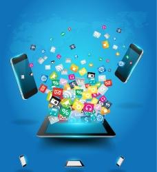 手机购物广告图片