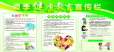 夏季健康教育图片