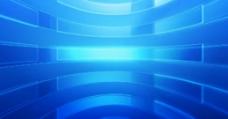 蓝色科技感动态视频