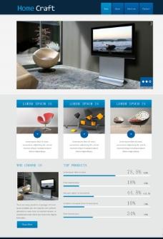套房裝修設計網頁模板圖片
