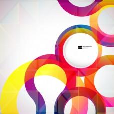 五彩時尚抽象背景