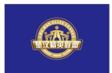 楚汉精英联盟旗帜图片