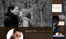 摄影师个人简介网页图片
