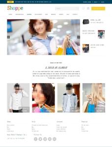 免费购物网站模板图片