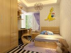 现代卡通卧室