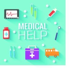 扁平化医疗主题图片