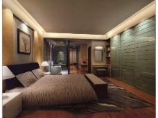 时尚卧室模型