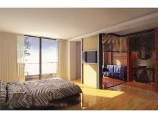 卧室室内装饰3d