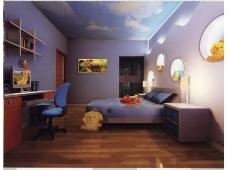 儿童卧室模型