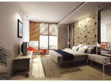 清新卧室模型