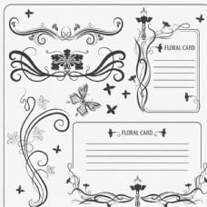 欧式花纹信纸