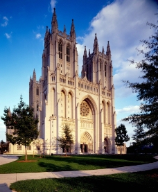 美国国家大教堂图片
