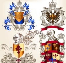 欧式皇室花纹图片