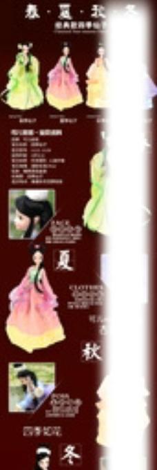 玩具可儿娃娃经典四季仙子详情图片