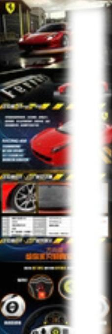 遥控赛车描述详情页面设计图片