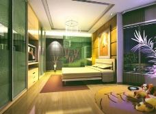 现代卧室室内设计