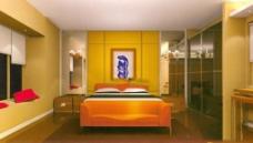 酒店房间模型