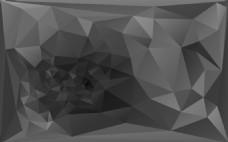 灰色多边形背景素材