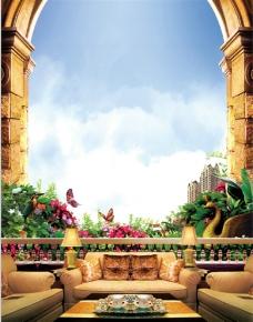 花园洋房图片