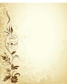 优雅背景花纹图片